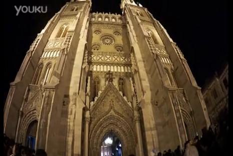 【視頻】濟南洪家樓天主堂教友以快閃模式報佳音