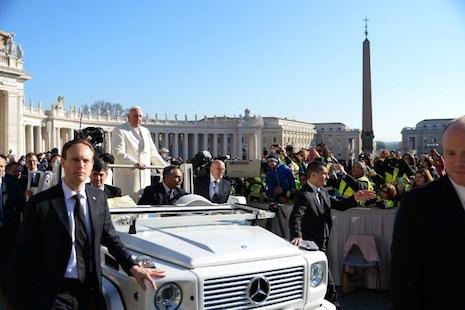 梵蒂岡加強保安措施,預防伊斯蘭國襲擊
