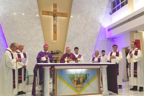 正委會為地下兩主教舉祭,陳樞機讚揚其為信仰犧牲