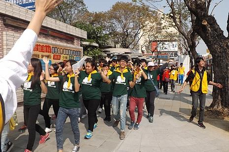 高雄教區徒步募款以喚醒各方對青年的重視