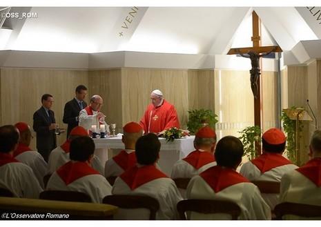 教宗提醒信眾憶記今日的殉道者,二零一五年的殉道者