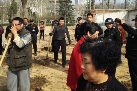 濟南教會植樹活動涉土地爭議,釀肢體衝突需報警處理