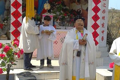 傳統慶節「撒花瞻禮」於聖母月再次在大名教區復興