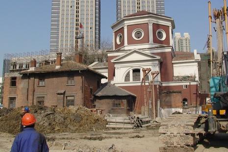 天津河東新建聖心堂將滿足教內的需要和教外的服務