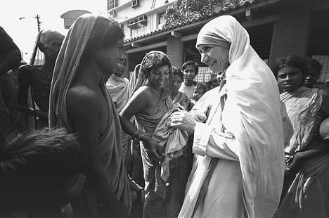 印度教會透露,真福德蘭修女將於一六年獲冊封為聖人