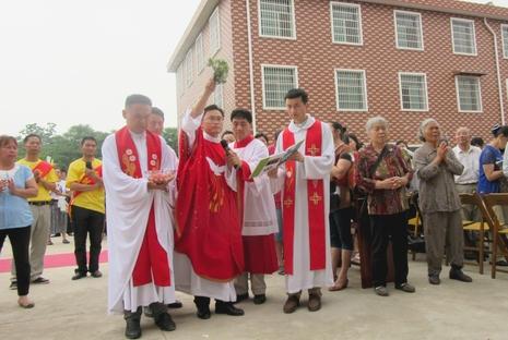 衡陽新安老院揭幕,真福雷永明曾任原址小修院院長