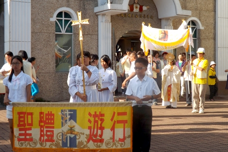 高雄教區明供聖體四十小時,四十六堂口敬禮耶穌聖體