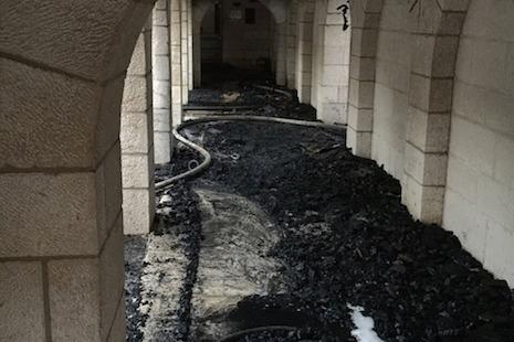 以色列耶穌增餅聖地疑遭縱火襲擊