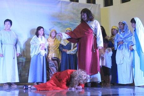 濟南再創立福傳形式,於大瞻禮前夕演繹聖經劇
