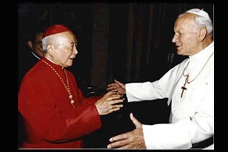 陳樞機獻祭紀念上海教難六十年,盼更多英勇故事問世