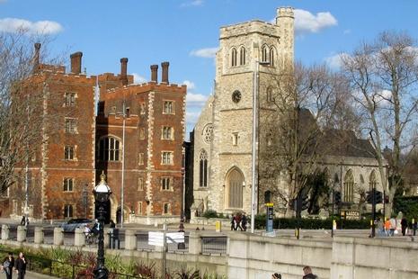 英青年基督徒準備在蘭貝斯宮度過「屬於天主時間的一年」