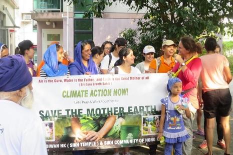 跨宗教團體參加氣候朝聖之旅,籲各國勇敢面對氣候問題