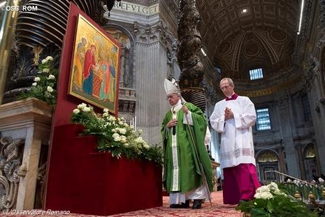世界主教会议闭幕,教宗将撰写会后劝谕