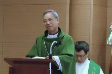 洪總主教鼓勵台灣「天主教候選人」為主作見證 thumbnail