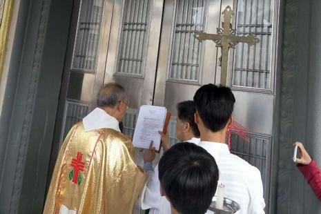 中國教會隨教宗開啟聖門,情況反映信仰自由受限