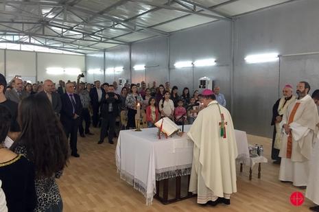伊拉克難民營增設貨櫃小堂,神父強調他們沒有被忘記