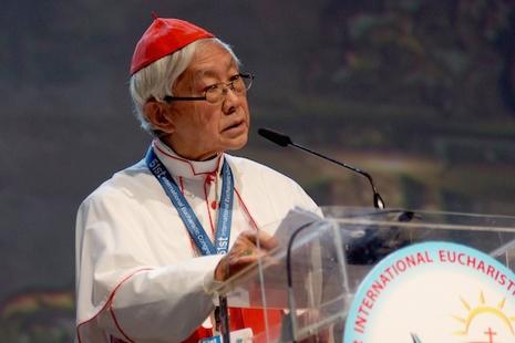 陳樞機籲海外教會代表與中國受迫害的基督徒團結一致 thumbnail