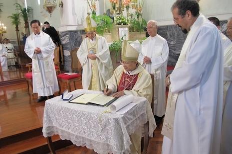 澳門教區慶祝成立四百四十周年,同迎新主教就職