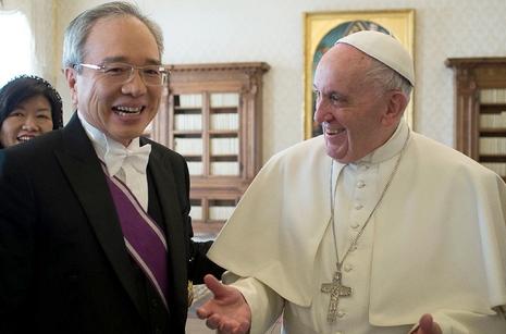 台灣駐教廷新大使履新,學者指台梵關係前所未有良好