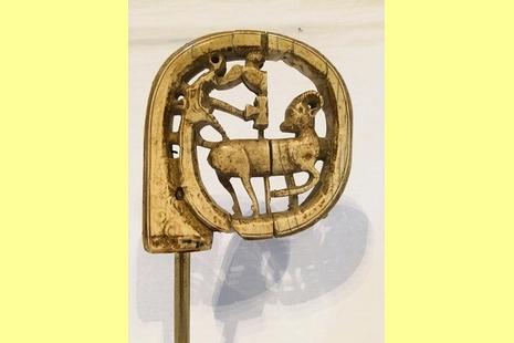 教廷向聖公會借出聖額我略牧杖聖髑以表合一