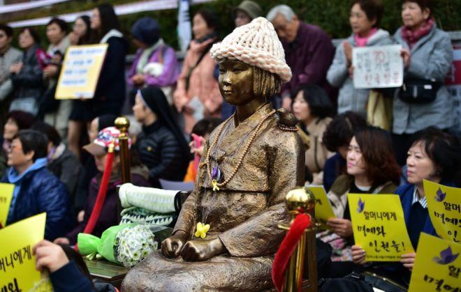 日韓就慰安婦達成協議,南韓主教指不可接受的