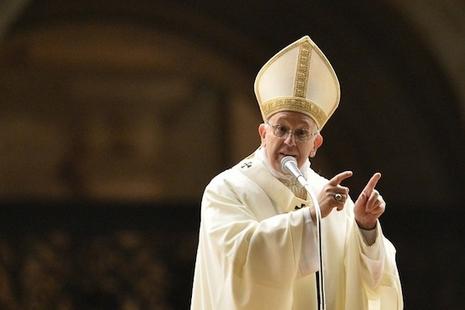 教宗方濟各首次探討中國問題,稱不要害怕與中國對話