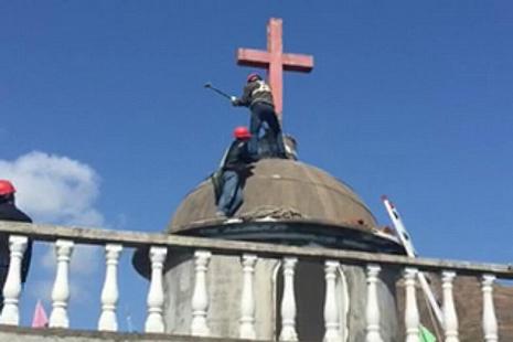 愛國會主席稱浙江強拆僅屬個案,政府鼓勵宗教發展