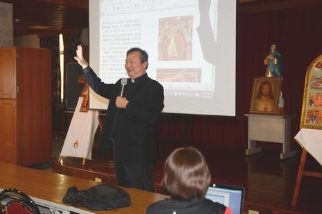 賀道明會創會八百年,台南教區辦聖畫像導覽
