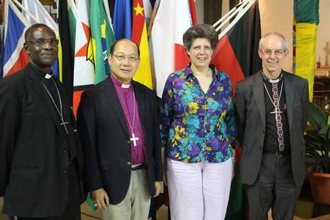 香港聖公會大主教任普世聖公宗諮議會主席