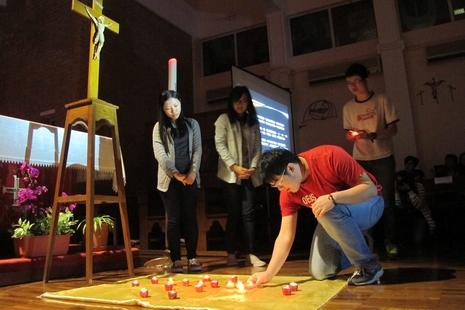港青年教友為中國教會祈禱,內地教友為國內宗教擔憂