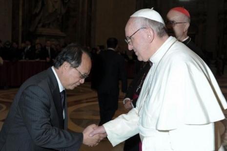 馬國首委任駐梵大使,教廷總主教望加強雙方關係