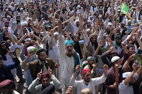巴基斯坦強硬派加緊要求處決被控褻瀆的天主教婦女 thumbnail