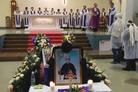 安陽教區張懷信主教安息主懷,享年九十一歲