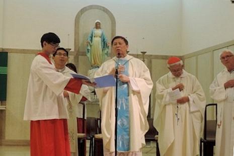 教廷官員韓大輝總主教鼓勵中國教友抱持希望