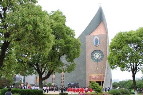 全國最高天主堂開堂,冀聖母進教之佑引領中國教會