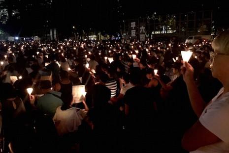 陳樞機感謝支聯會存六四真相,港人籲悼念向極權說不
