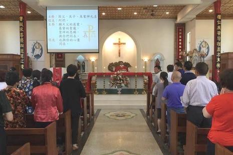 海外教友在慈悲禧年踴躍到台灣中華殉道聖人朝聖地朝聖
