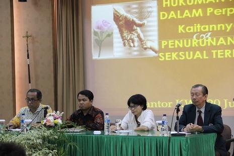 印尼教會支持醫生反對化學閹割懲處,籲政府檢討罰則