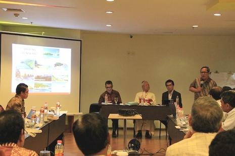 印尼总主教谴责自然景观的旅游计划