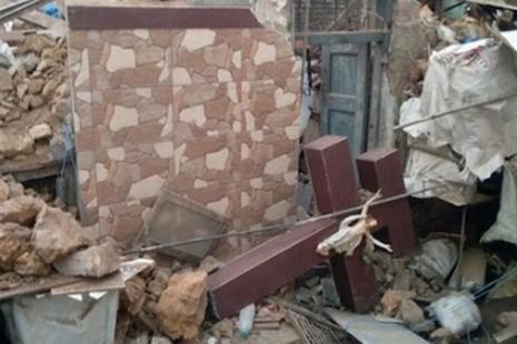 印度孟買十字架遭拆毀,基督徒憤怒