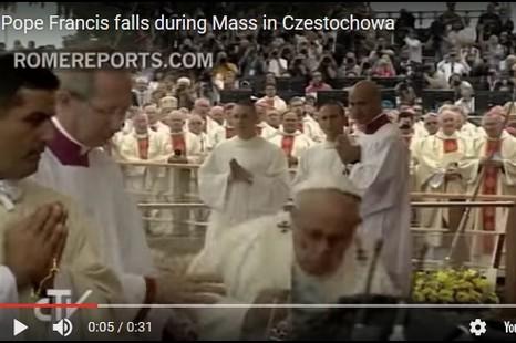 【博文】小神父有話說:由看到教宗跌倒想起來的