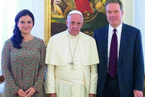梵蒂岡發言人新舊交替,新任女性副手會華語