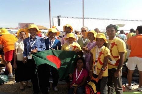 孟加拉青年出席世界青年節,指藉慶典反省慈悲