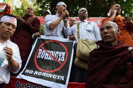 緬甸政府反對使用「羅興亞人」稱呼若開邦伊斯蘭教徒 thumbnail