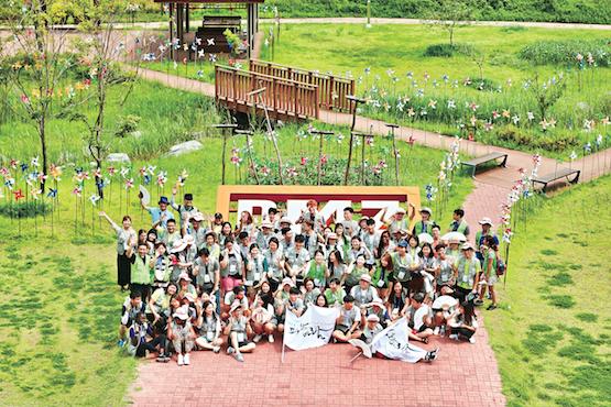 南韓青年教友藉徒步朝聖倡議兩韓和解