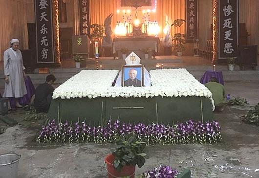 台州教区徐吉伟主教安息主怀,享年八十一岁