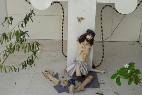 印度有路邊十字架在德蘭修女宣聖當天遭褻瀆