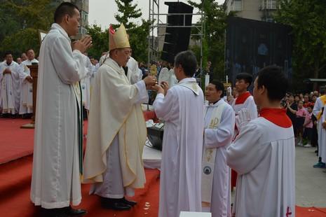 西安主教座堂三百周年堂慶,主教強調勿忘先輩的付出