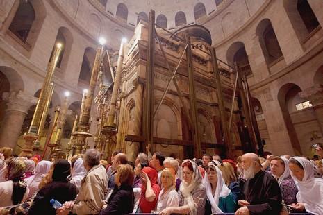 聖墓大殿二百年來首次展開修葺工程