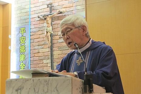 陳日君樞機為蔚和平神父舉行逝世一周年追思彌撒